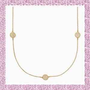"Kate Spade ♠️ Gold ""Brightspot Scatter"" Necklace"